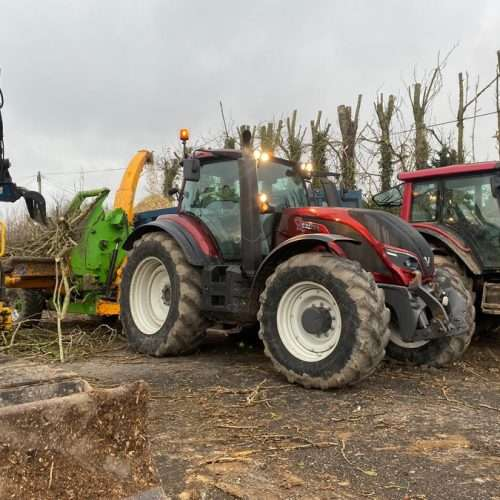 Round Top Trees Vehicles for site clearance