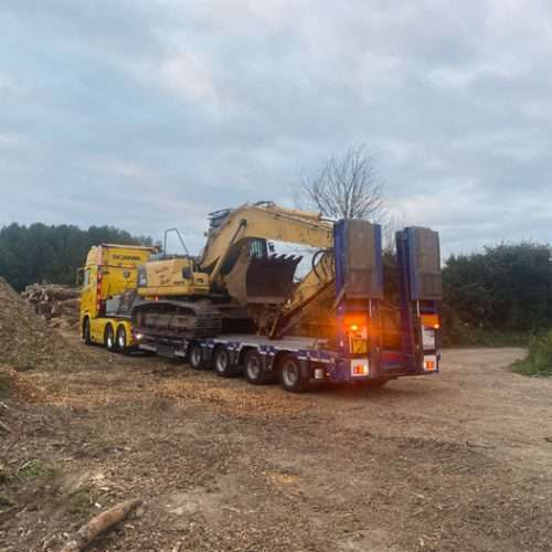 Site clearance vehicle management